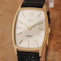 Rolex Cellini Swiss Made Men's 18k Gold Manual 1990s...