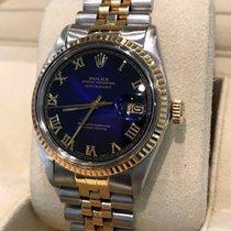Rolex Oyster Datejust Jubilee Gold Steel Roman Dial 36mm (Ful...