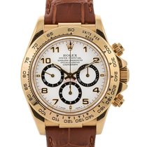 Rolex Daytona Mov. Zenith W Serial 40mm In Oro Giallo 18kt...