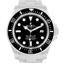 Rolex Seadweller 4000 Stainless Steel Mens Date Watch 116600
