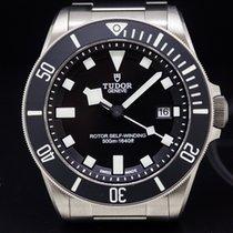 Tudor 25500TN Pelagos Black Dial Titanium / Bracelet (29267)