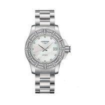 Longines Conquest Diamonds Automatic Ladies Watch