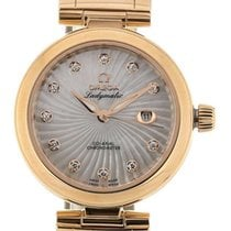 Omega De Ville Ladymatic Co-Axial 34 MoP Diamonds