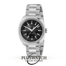 Gucci Quartz GG2570 Large  Black Dial Stainless Steel 41mm R
