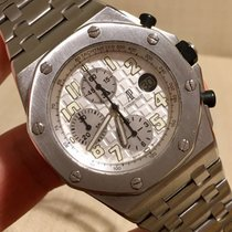 Audemars Piguet Royal Oak Offshore Rubberclad White Dial