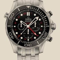Omega Seamaster Diver 300 M Co-Axial GMT Chronograph 44 мм