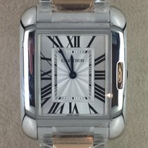 Cartier Tank Anglaise Rose Gold Ladies Quarz Ref. W5310043