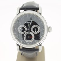 Montblanc Meisterstuck Steel Full Calendar Dual Time  automat...