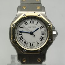 Cartier SANTOS LADY STEEL/GOLD AUTOMATIC PERFECT CONDITION