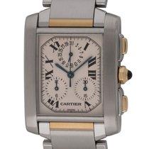 Cartier - Tank Francaise Chronograph : W51004Q4