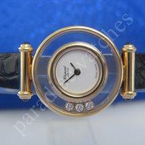 Chopard Happy Diamonds in 750/18 Karat Gold. Original-Etui.