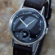 Sidney Swiss Made Rare Mid Size 30mm Men's 1940s Manual...
