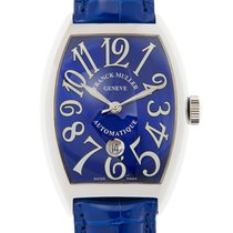 Franck Muller Vintage Stainless Steel Blue Automatic 8880 B Sc...