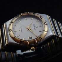 Omega Constellation Steel & Gold Ladie's