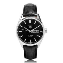 TAG Heuer Carrera Steel Calibre 5 Day Date Automatic Mens...