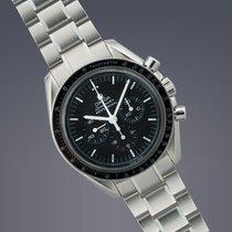 Omega Speedmaster Moonwatch stainless steel manual chronograph...