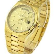 Rolex Used 19018chmapstick Quartz President Day-Date - Yellow...