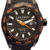 Locman Stealth 300 Metri Carbon Case Automatic New Warranty 2...