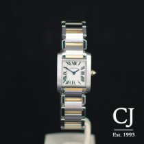Cartier Tank Francaise Steel & Gold Ladies / Small Quartz