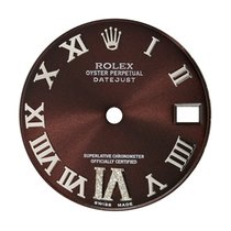 Rolex DateJust 31mm Chocolate/Roman Numerals Custom Dial