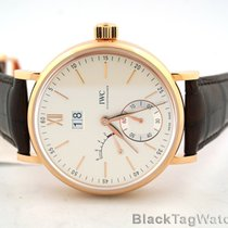 IWC Portofino 8 Days Power Reserve Date 18k Rose Gold