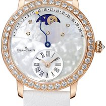Blancpain Ladies Retrograde Calendar Moonphase 3653-2954-58b