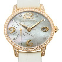 芝柏 (Girard Perregaux) Cats Eye 18 K Rose Gold With Diamonds...