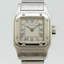 Cartier Santos Quartz Steel Lady 1565