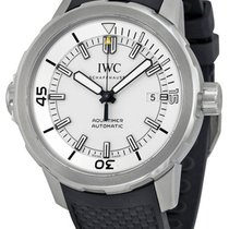 IWC IW329003 Aquatimer Swiss Automatic Silver Dial Men's...