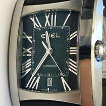Ebel Brasilia Steel Black Men's Watch