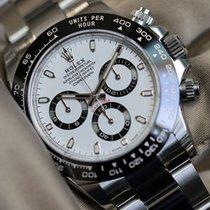 Rolex Daytona 116500 white dial full set
