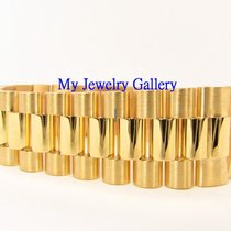 勞力士 (Rolex) Aftermarket 18k Yellow Gold Bracelet Band for Mens...