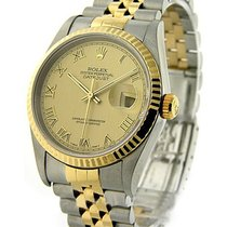 Rolex Used 16233_champ_roman_used Mens 2-Tone Datejust with...