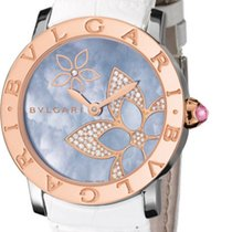Bulgari Bvlgari Automatic 33mm 18K Rose Gold Diamonds