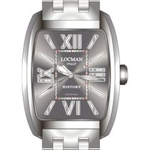 Locman History 488N00BKFNK0BR0 Steel Grey Quartz Ladies