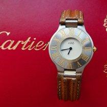 Cartier Montre Must 21 Elegante Hochfeine Damen Armbanduhr 31mm