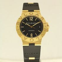 Μπούλγκαρι (Bulgari) Diagono Automatic 38mm 18ct yellow gold...