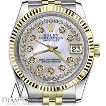 ロレックス (Rolex) String Diamond Rolex 26mm Datejust 18k 2tone...