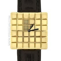 ショパール (Chopard) 18k yellow gold ladies Cube watch