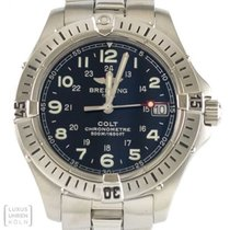 Breitling Uhr Colt Quarz Unisex Edelstahl A74350