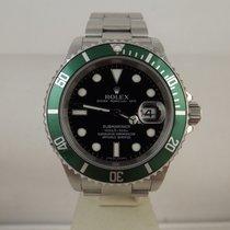 Rolex Submariner ref. 16610LV ghiera verde anno 2006 B&P