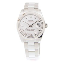 勞力士 (Rolex) Datejust White Gold And Steel Silver Automatic...