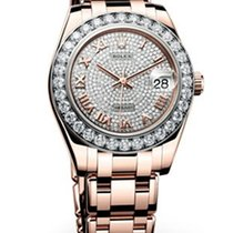 Rolex Lady-Datejust Pearlmaster 18K Rose Gold Diamonds Automatic