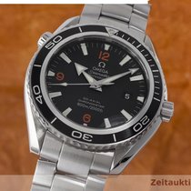 Omega Seamaster Planet Ocean Co Axial Automatik Stahl Herrenuhr