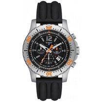 Traser H3 Extreme Sport Chronograph mit schwarzem Silikonarmba...