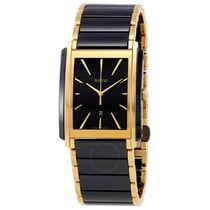 Rado Integral L Black Dial Ceramic Men's Watch