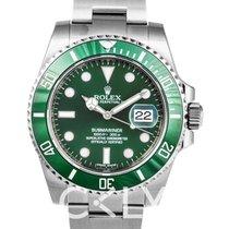 Rolex Submariner Green/Steel Ø40mm - 116610 LV
