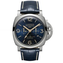 パネライ (Panerai) Luminor 1950 8 Days Equation Of Time Gmt Titanio