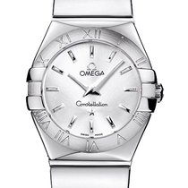 Omega Constellation Polished 24mm 123.10.24.60.02.002
