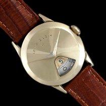 "Elgin 1950's Direct Read ""Chevron"" Digital Jump Hour Watch -..."